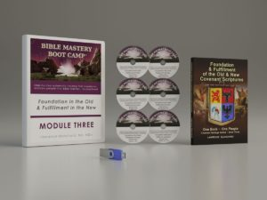 Bible Mastery Bootcamp Module Three with Textbook